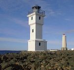 Vintage Akranes Lighthouse